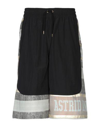 ASTRID ANDERSEN 3/4-Length Short in Black