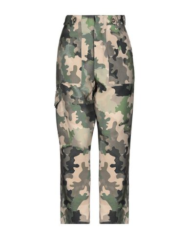 ERMANNO GALLAMINI Casual Pants in Military Green