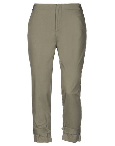 SIBEL SARAL Casual Pants in Military Green