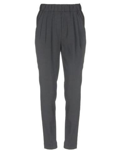 VIA MASINI 80 Casual Pants in Black