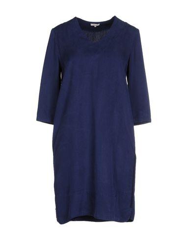 YERSE Short Dress in Dark Blue