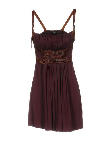 SKY Short Dress in Deep Purple