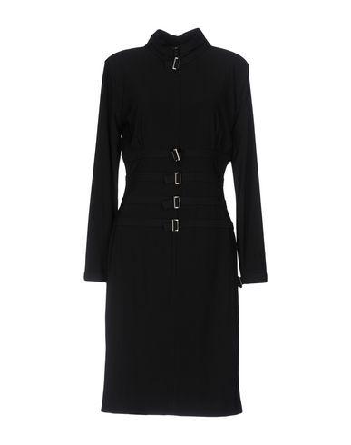 SEN Knee-Length Dress in Black