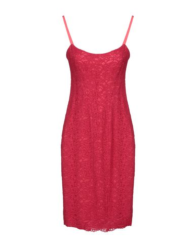 GIO' GUERRERI Knee-Length Dress in Garnet