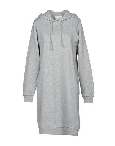 JUST FEMALE Short Dress in Light Grey