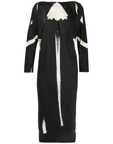 MARIA GRACHVOGEL Midi Dress in Black