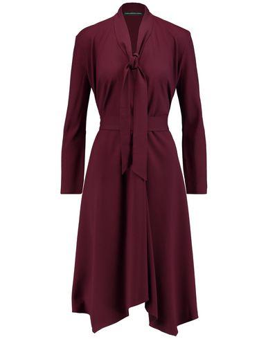MARIA GRACHVOGEL Knee-Length Dress in Maroon