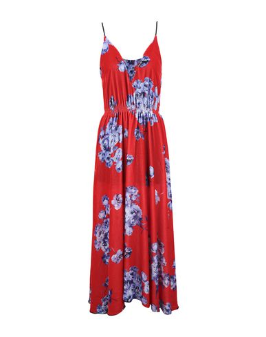 SI-JAY Long Dress in Red