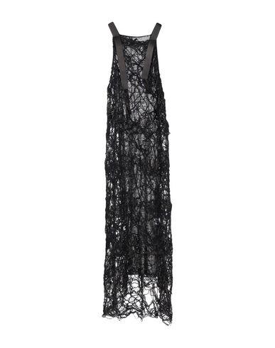 ALESSANDRA MARCHI Long Dress in Dark Brown