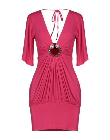 SKY Short Dress in Fuchsia