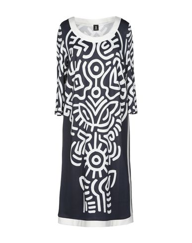 ONE Knee-Length Dress in Dark Blue