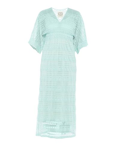PINK MEMORIES Long Dress in Light Green