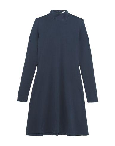 TITLE A Short Dress in Dark Blue
