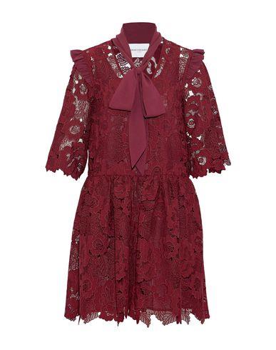 PERSEVERANCE Short Dress in Maroon