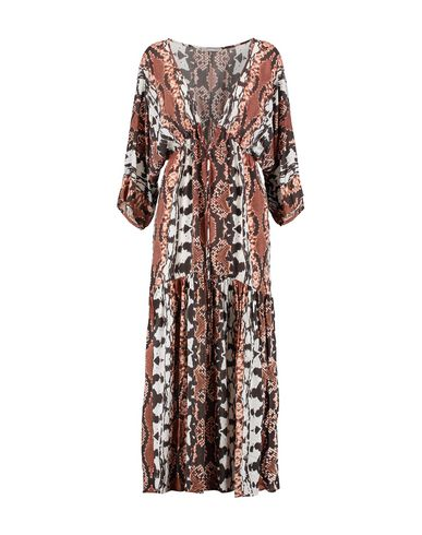 TART COLLECTIONS Long Dress in Brown