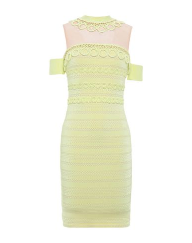FOREVER UNIQUE Short Dress in Yellow