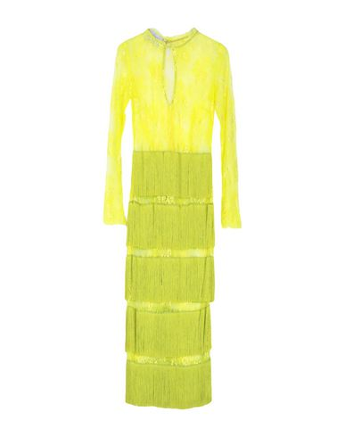 DAIZY SHELY Midi Dress in Acid Green