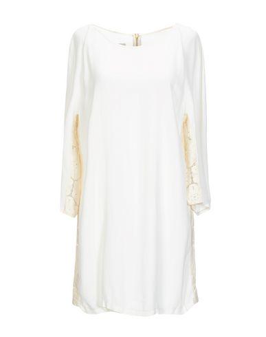 PINK MEMORIES Short Dress in Ivory