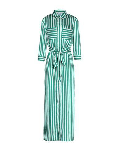 HOPPER Long Dress in Green
