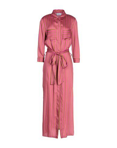 HOPPER Long Dress in Fuchsia