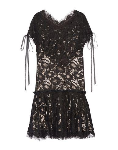 WES GORDON Short Dress in Black
