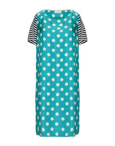 MOMONÍ Short Dress in Turquoise