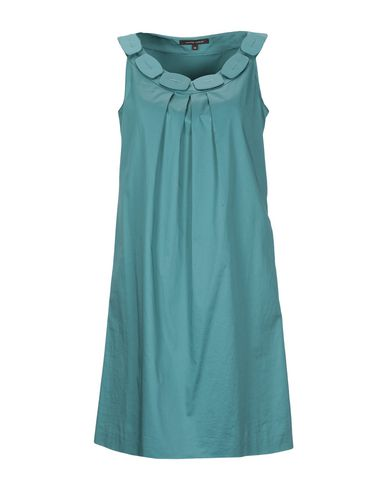 WALTER VOULAZ Short Dress in Pastel Blue