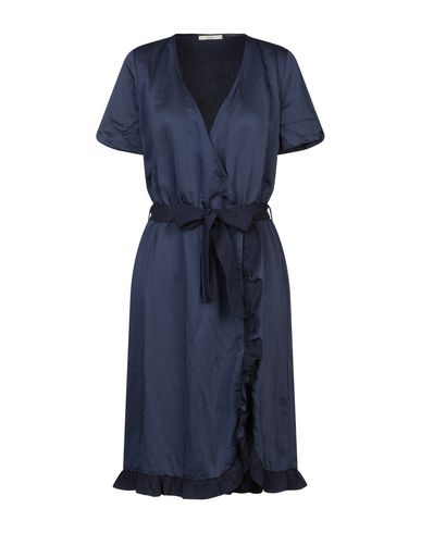 SESSUN Knee-Length Dress in Dark Blue