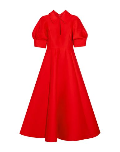 MERCHANT ARCHIVE 3/4 Length Dresses in Red