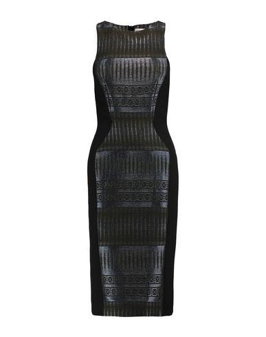 AMANDA WAKELEY Knee-Length Dress in Military Green