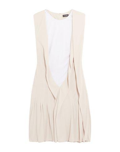 ATLEIN Short Dress in Beige