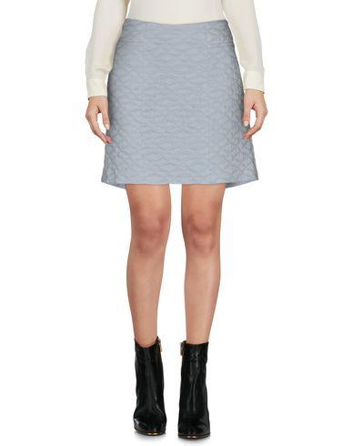 THEYSKENS' THEORY Mini Skirt in Sky Blue