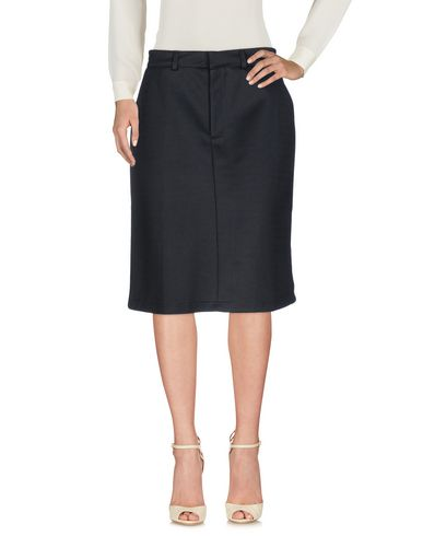 ADIDAS ORIGINALS BY HYKE Knee Length Skirt in Black