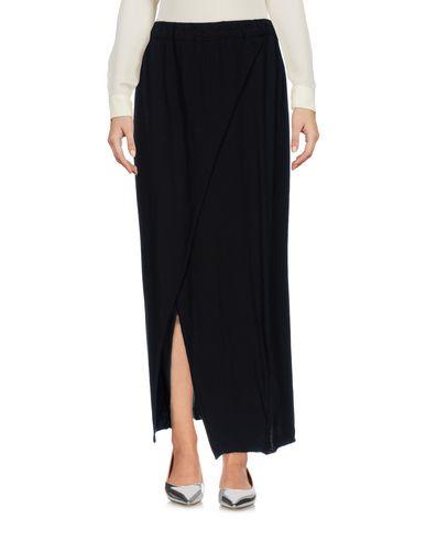 PRIMORDIAL IS PRIMITIVE Maxi Skirts in Black