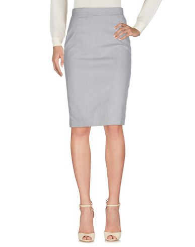 ANDERSON Knee Length Skirt in Grey