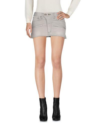 L.G.B. Mini Skirt in Grey