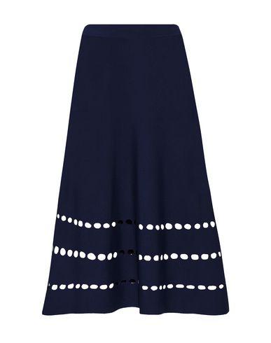 OHNE TITEL Knee Length Skirt in Dark Blue