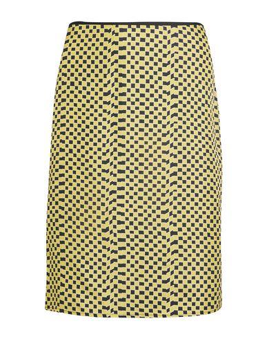 KÉJI Knee Length Skirt in Yellow