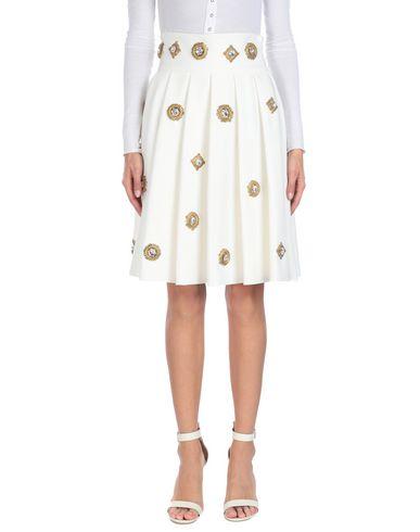 STEFANO DE LELLIS Knee Length Skirts in White