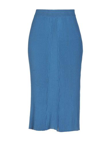COMMON WILD Midi Skirts in Azure