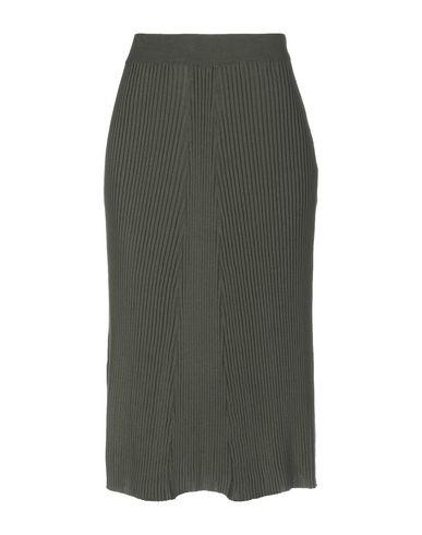 COMMON WILD Midi Skirts in Dark Green