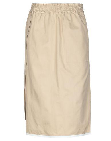 BARBARA ALAN Knee Length Skirt in Beige