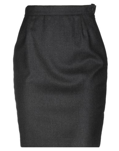 GIORGIO GRATI Knee Length Skirt in Lead