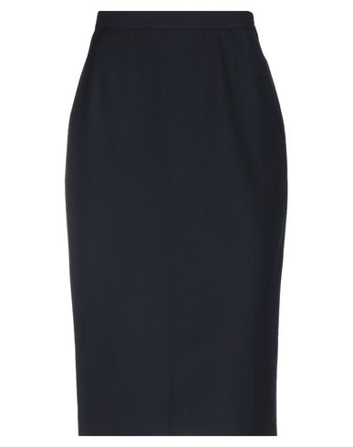 GIORGIO GRATI Midi Skirts in Dark Blue