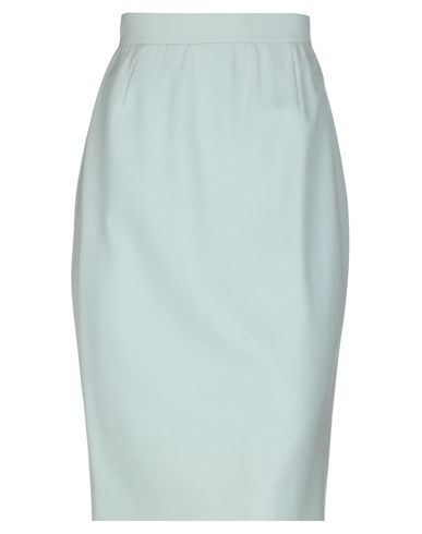 GIORGIO GRATI Knee Length Skirt in Sky Blue