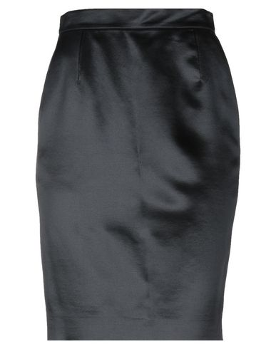 GIORGIO GRATI Knee Length Skirt in Black