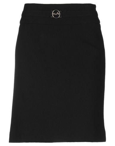 WEILL Knee Length Skirt in Black