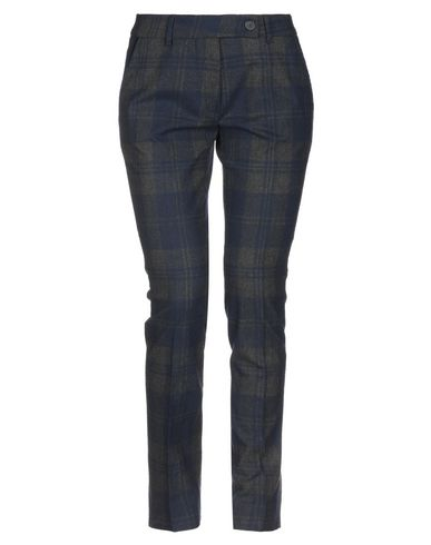 VIA MASINI 80 Casual Pants in Dark Blue