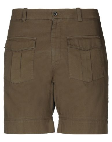 WOOSTER + LARDINI Shorts & Bermuda in Military Green