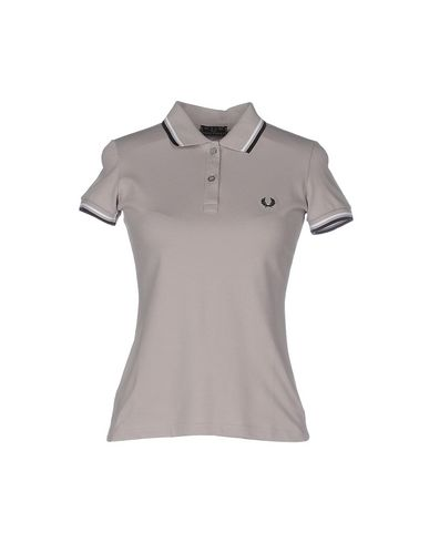 Fred Perry Polo Shirt In Light Grey